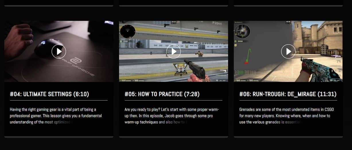 How to get better at csgo with courses