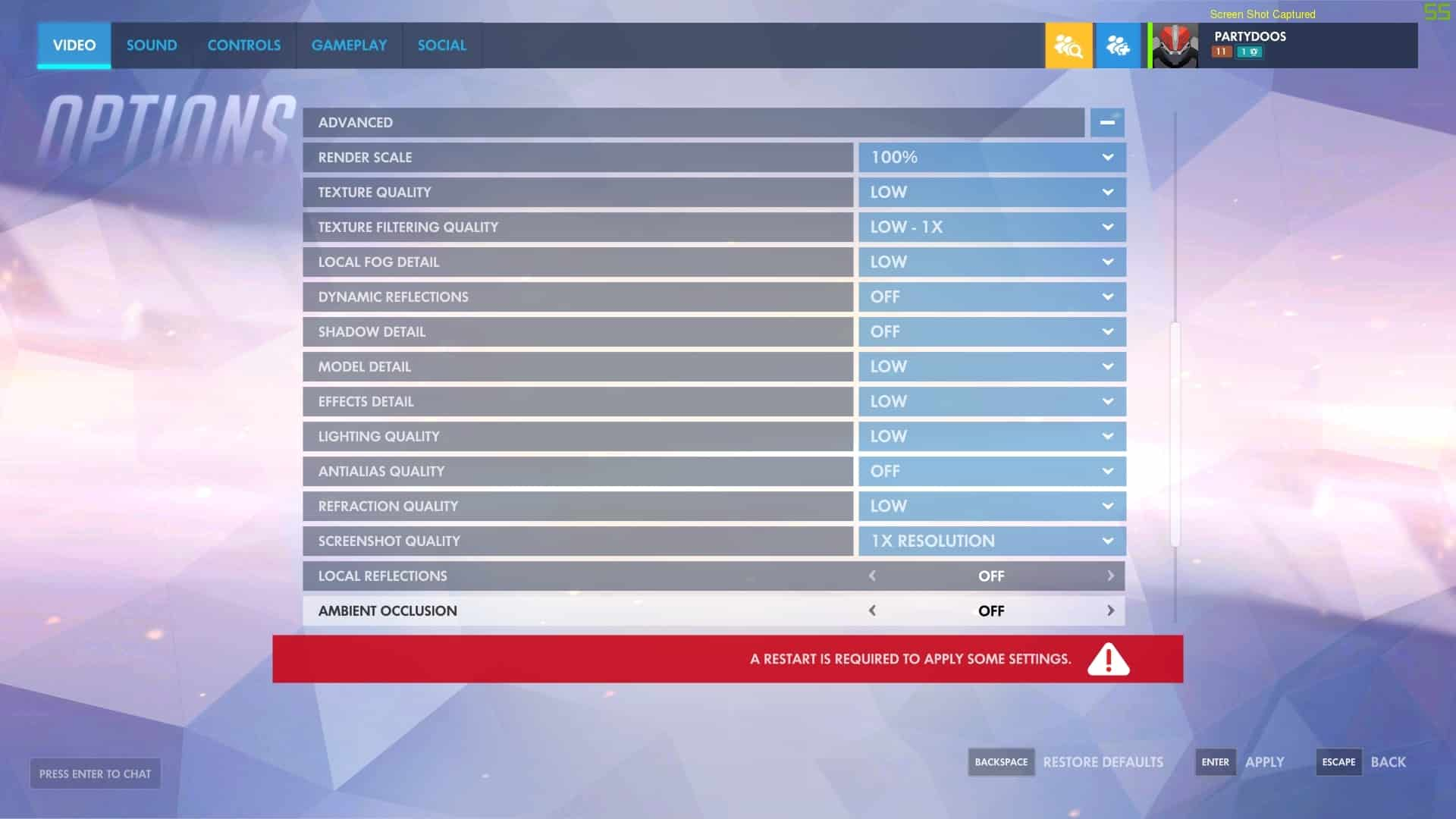 Optimal Settings for Overwatch: Boost Your FPS and Accuracy