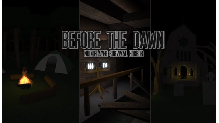 Best Roblox Horror games - Before the dawn