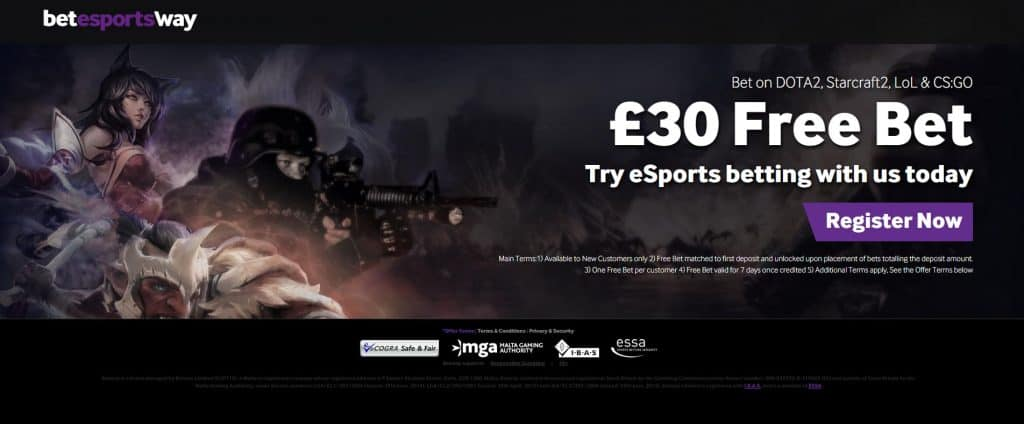 special esports bets