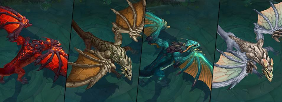 Image result for elemental dragons lol