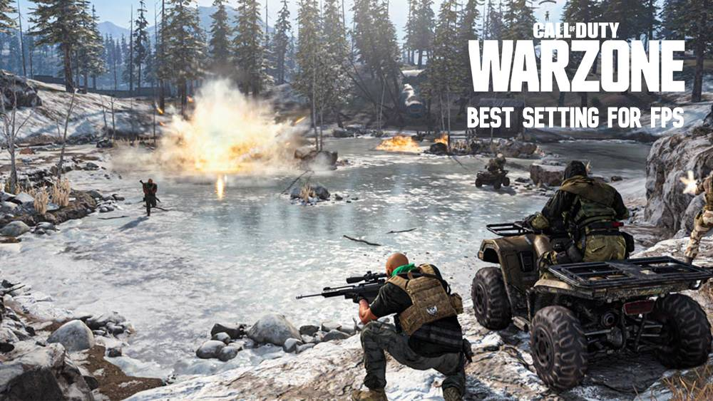 best Warzone settings for FPS