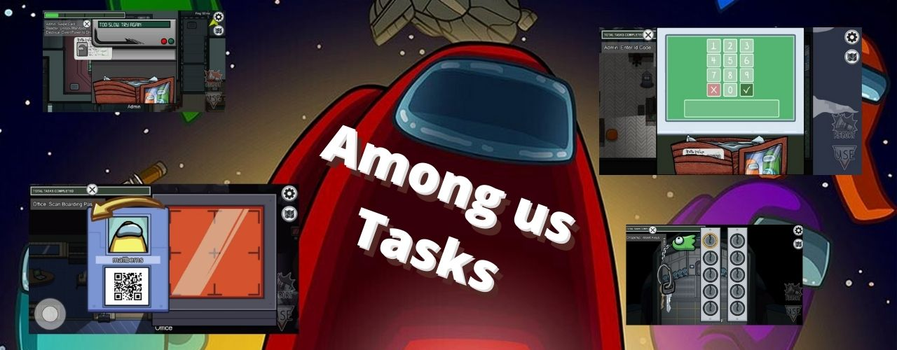 Among us Tasks
