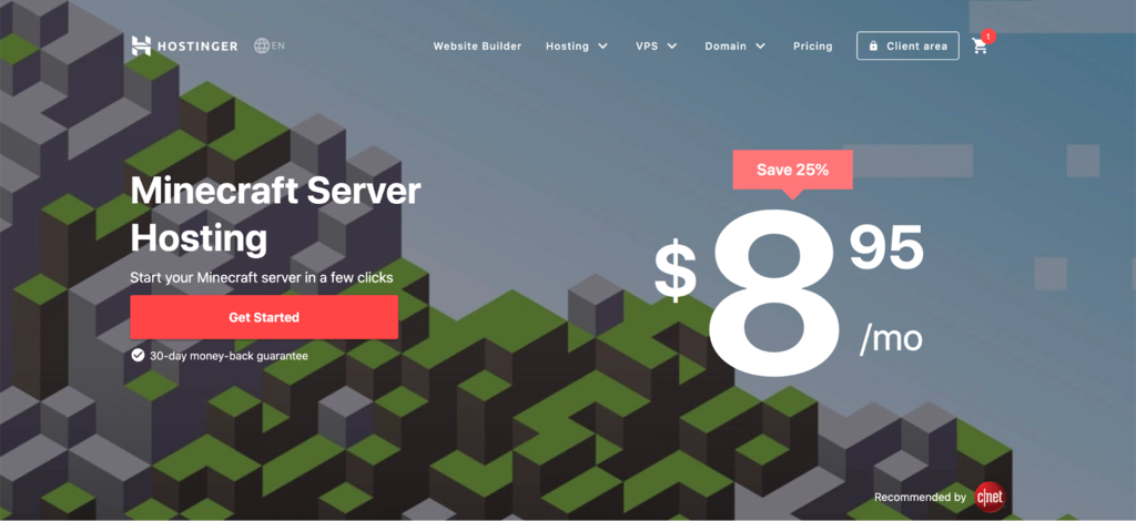 cheapest-minecraft-server-hosting-2020-hostinger