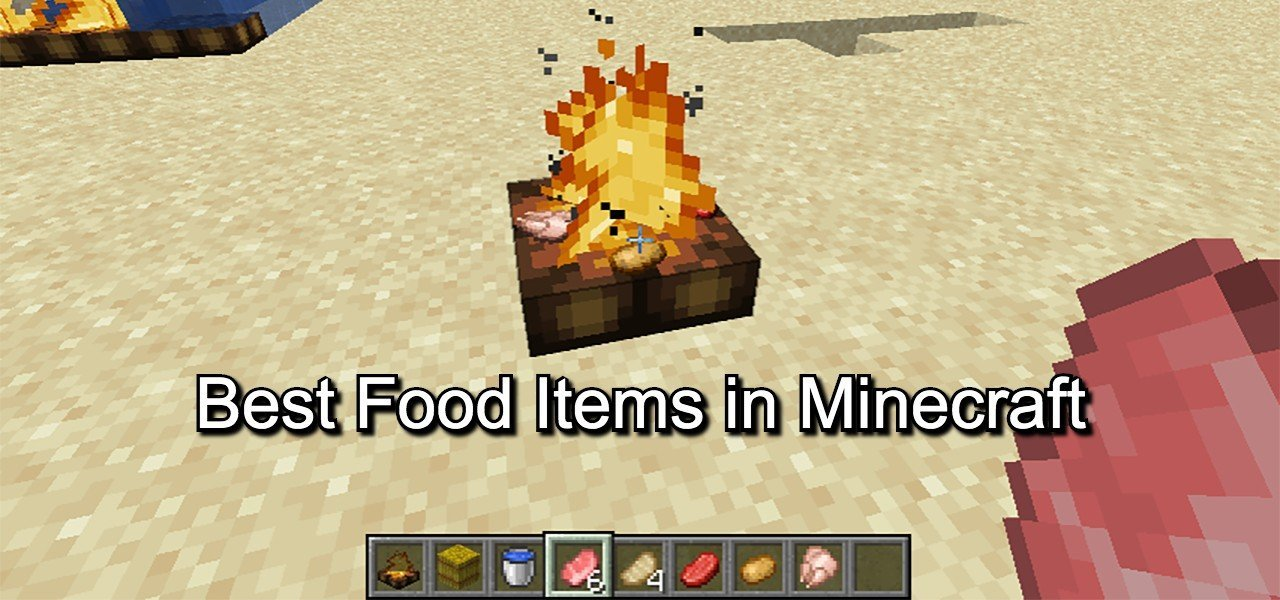 Best food items in minecraft