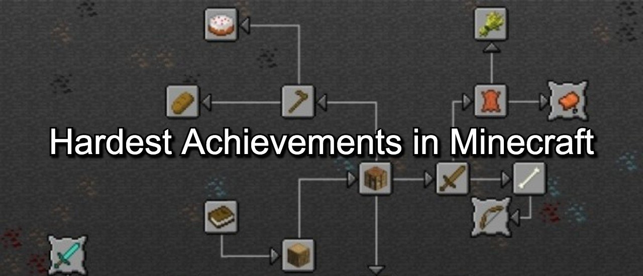 Hardest achievements minecraft