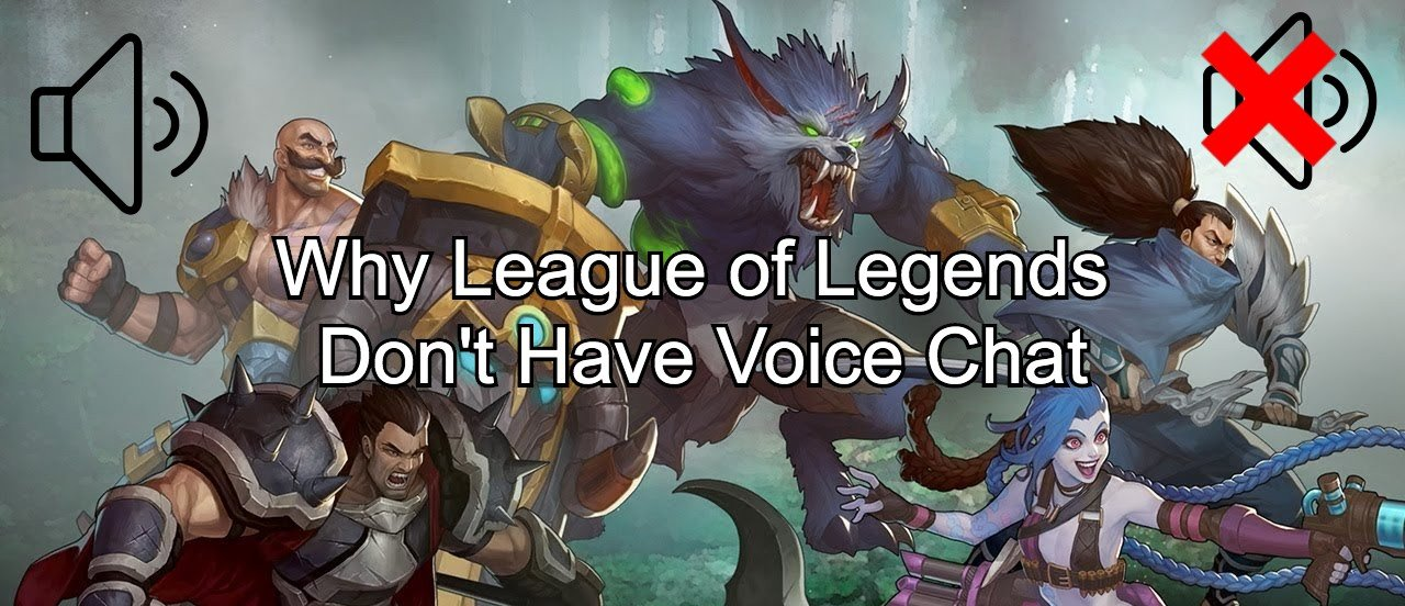 why league of legends dont have voice chat